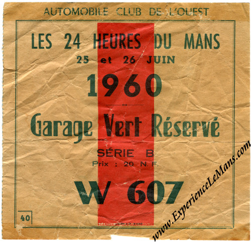 1960 24 hours of le mans posters and memorabilia. Black Bedroom Furniture Sets. Home Design Ideas