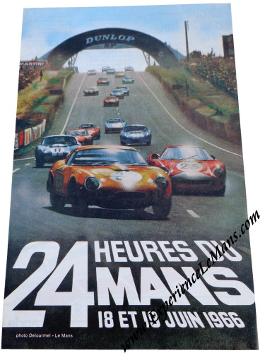 1966 24 hours of le mans posters and memorabilia. Black Bedroom Furniture Sets. Home Design Ideas