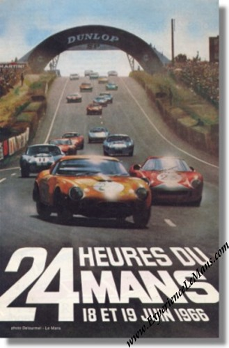 1966 24 Hours of Le Mans Posters and Memorabilia