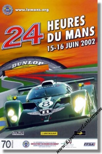 2002 24 Hours Of Le Mans Posters And Memorabilia