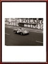 Vintage 1965 photo of Ferrari 275P2 S/N 0828 at the 24 Heures du Mans