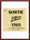 Vintage 1960 24 Hours of Le Mans Sortie Ticket Stub
