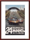 Vintage Original 1966 24 Hours of Le Mans Poster