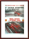 Vintage Original 1966 24 Hours of Le Mans Qualifying Poster