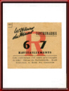 Vintage 1967 Le Mans 24 Hours Re-Entry Ticket Contremarque for the Pits Area