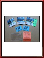 Original 1982 24 Hours of Le Mans Pits Ticket Set Porsche 956 Number 3