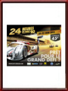 Original 2013 24 Hours of Le Mans Poster